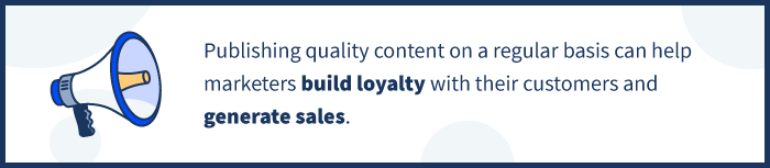 callout build loyalty generate sales