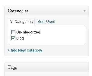 Website categories
