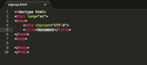 html-boilerplate