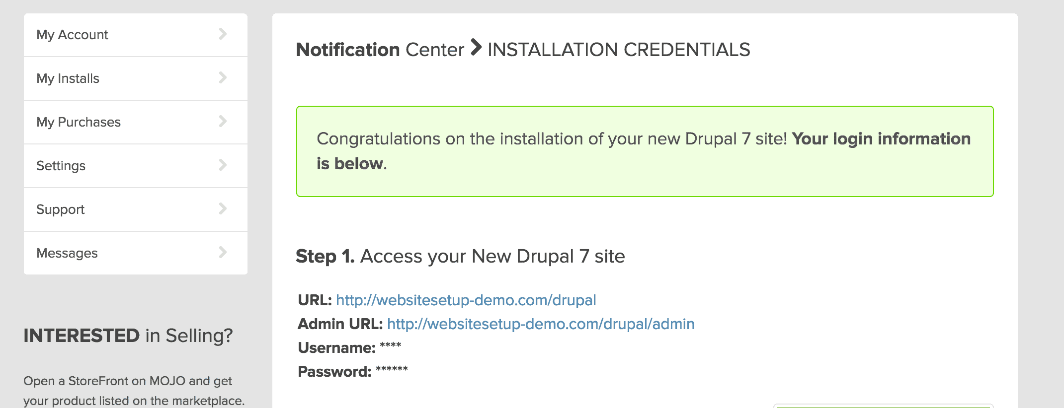 drupal_install_finished