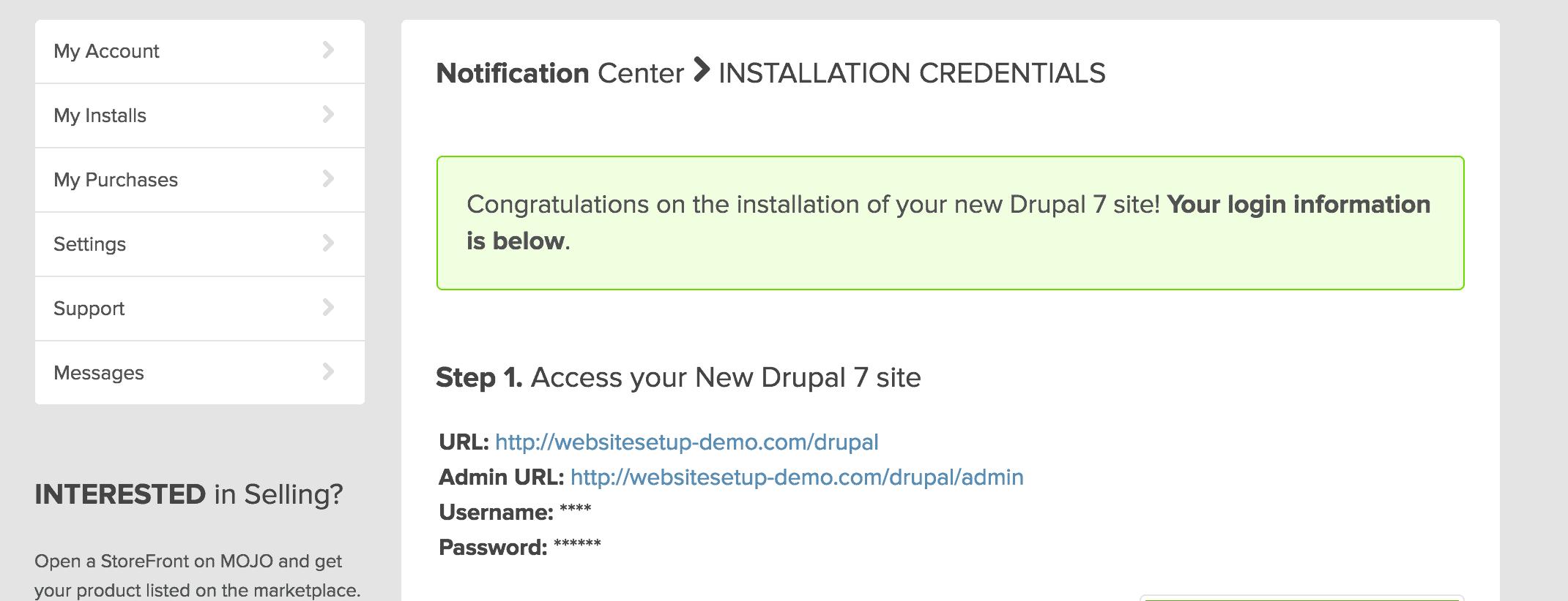 drupal_install_finished