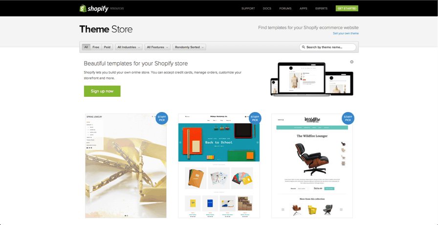 Beginners Guide To Shopify Store From Start To Finish - Shopify store templates