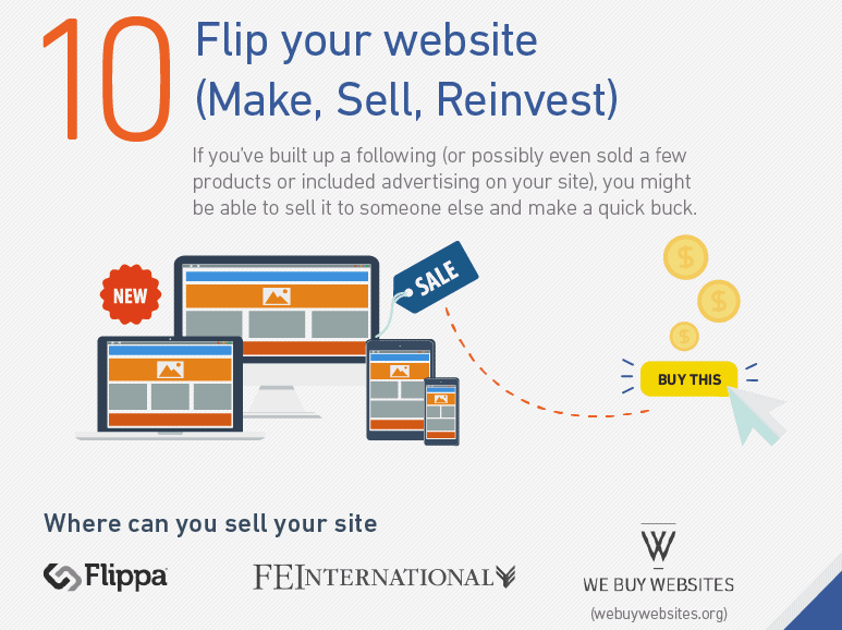 sell your website method 10