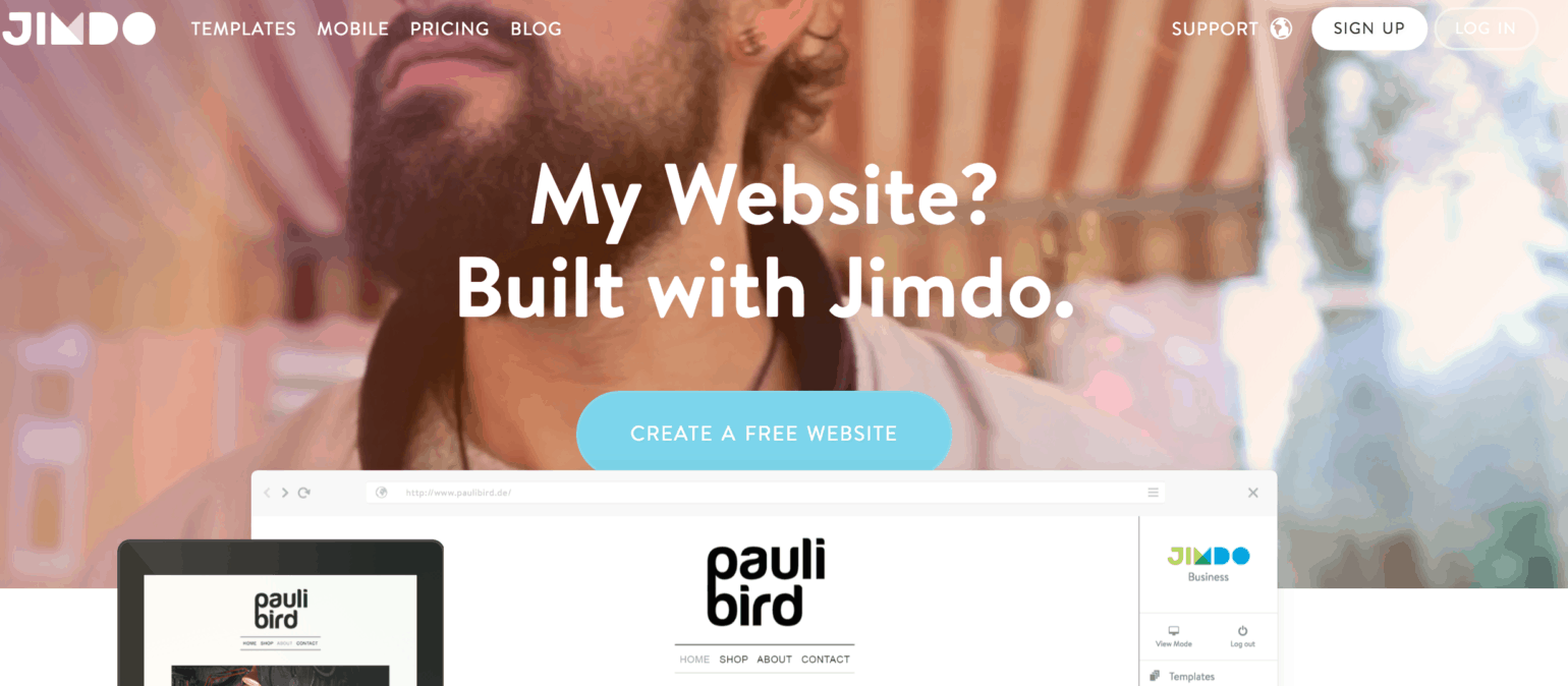 best website builders reviewed i bought and signed up jimdo website builder