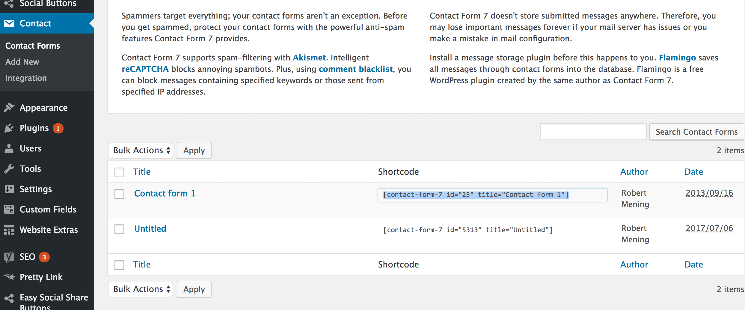How to Add a Contact Form to Your WordPress Website/Blog