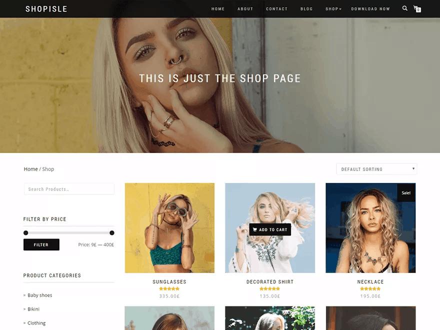 Free WordPress Theme #6