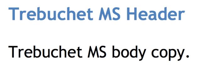 15 Best Web Safe HTML & CSS Fonts - websitesetup org
