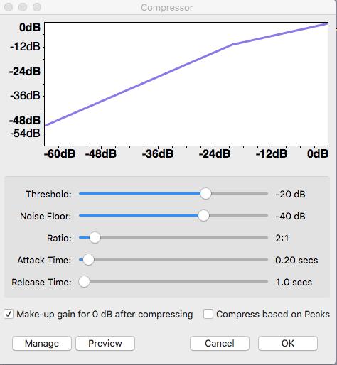 Effect -> Compressor