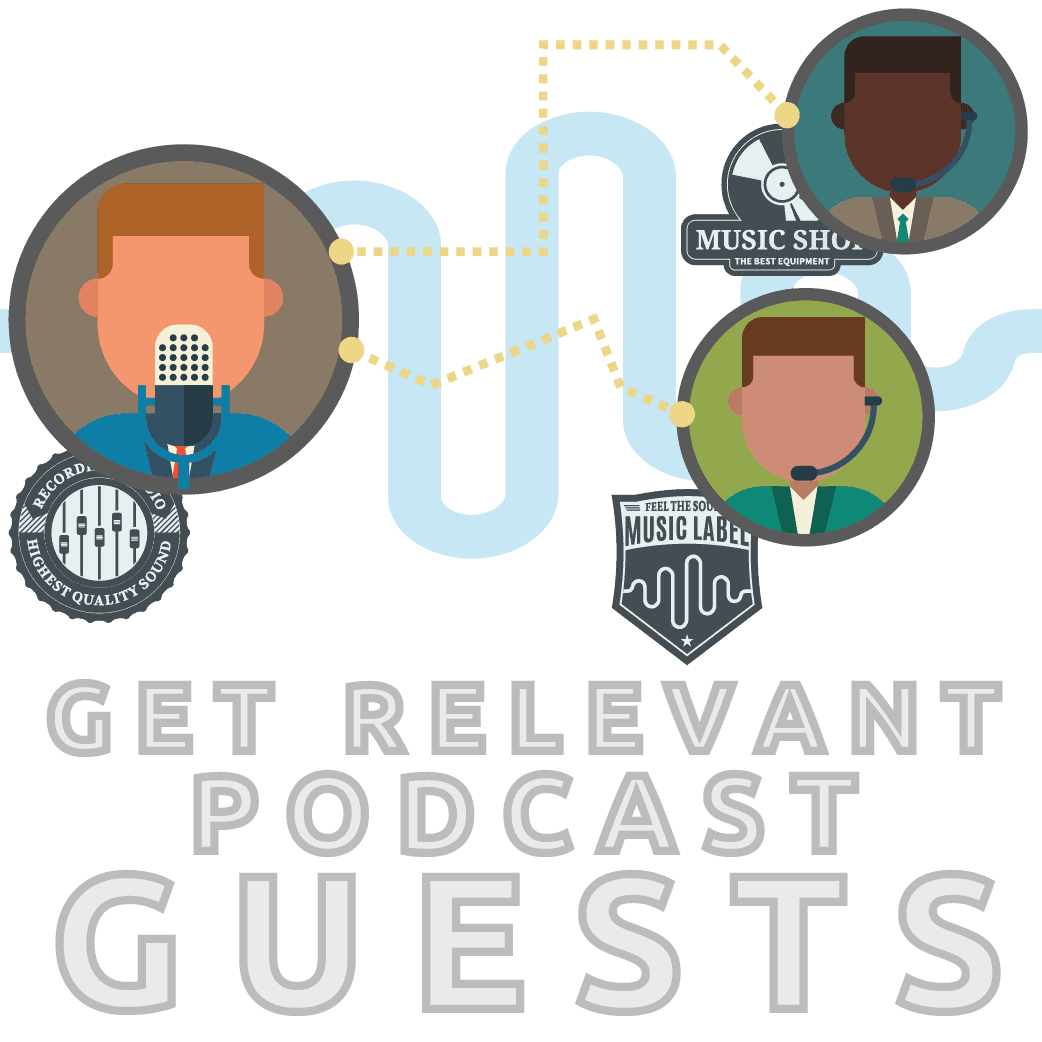 Get podcast guests