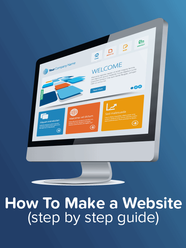 make a website guide