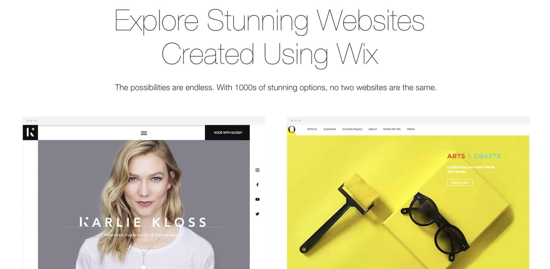 WordPress vs Wix vs Squarespace: Wix clients