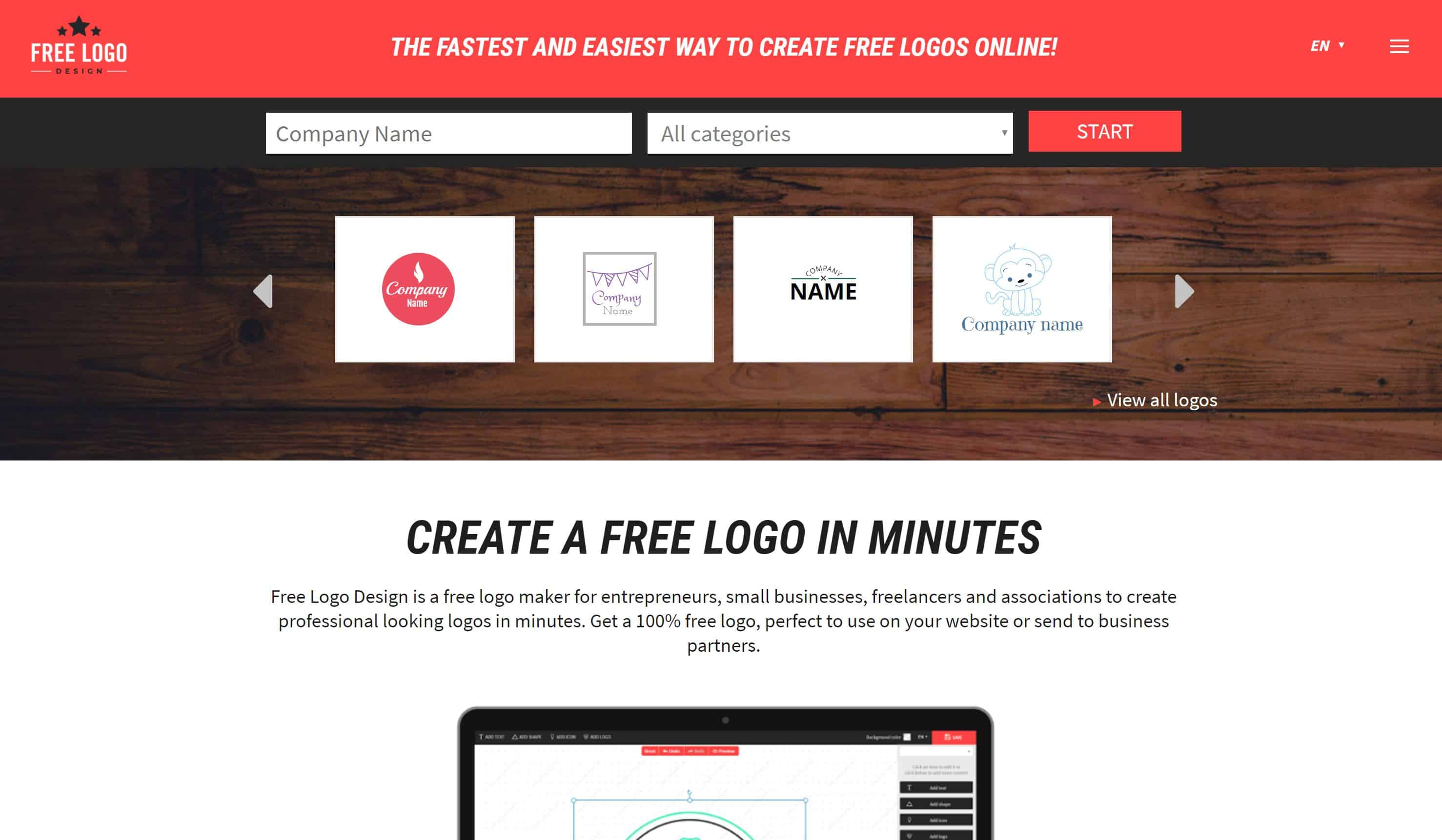 15 Best FREE Online Logo Makers & Generators - websitesetup org