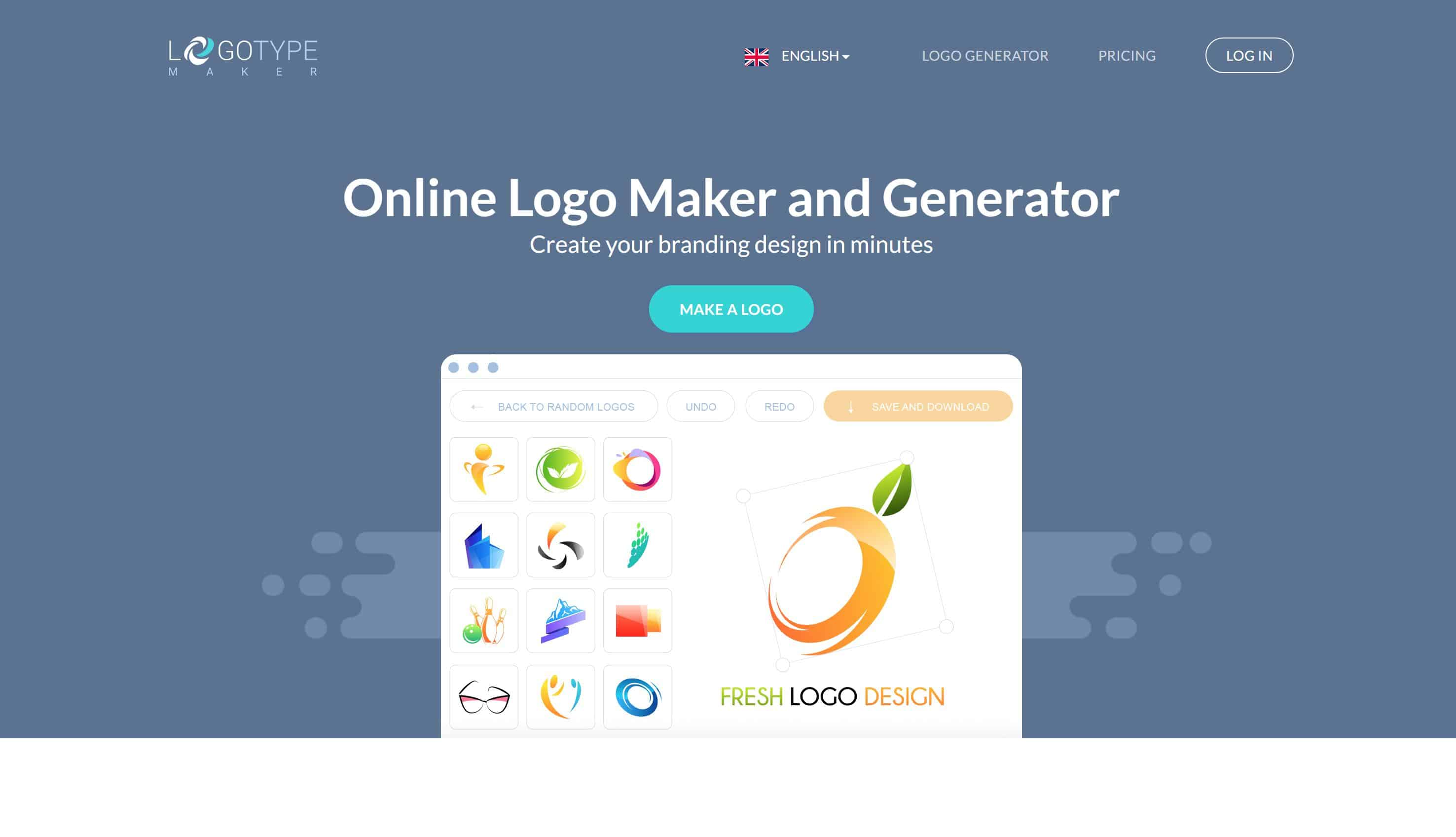 15 best free online logo makers generators for Making a blueprint online