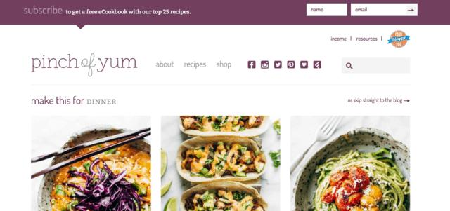 Example Website #1