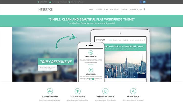30+ Best Free WordPress Themes (Blog, Business & Portfolio)