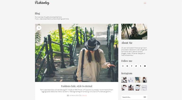 Kalium Blogger Best WordPress Blogging Theme