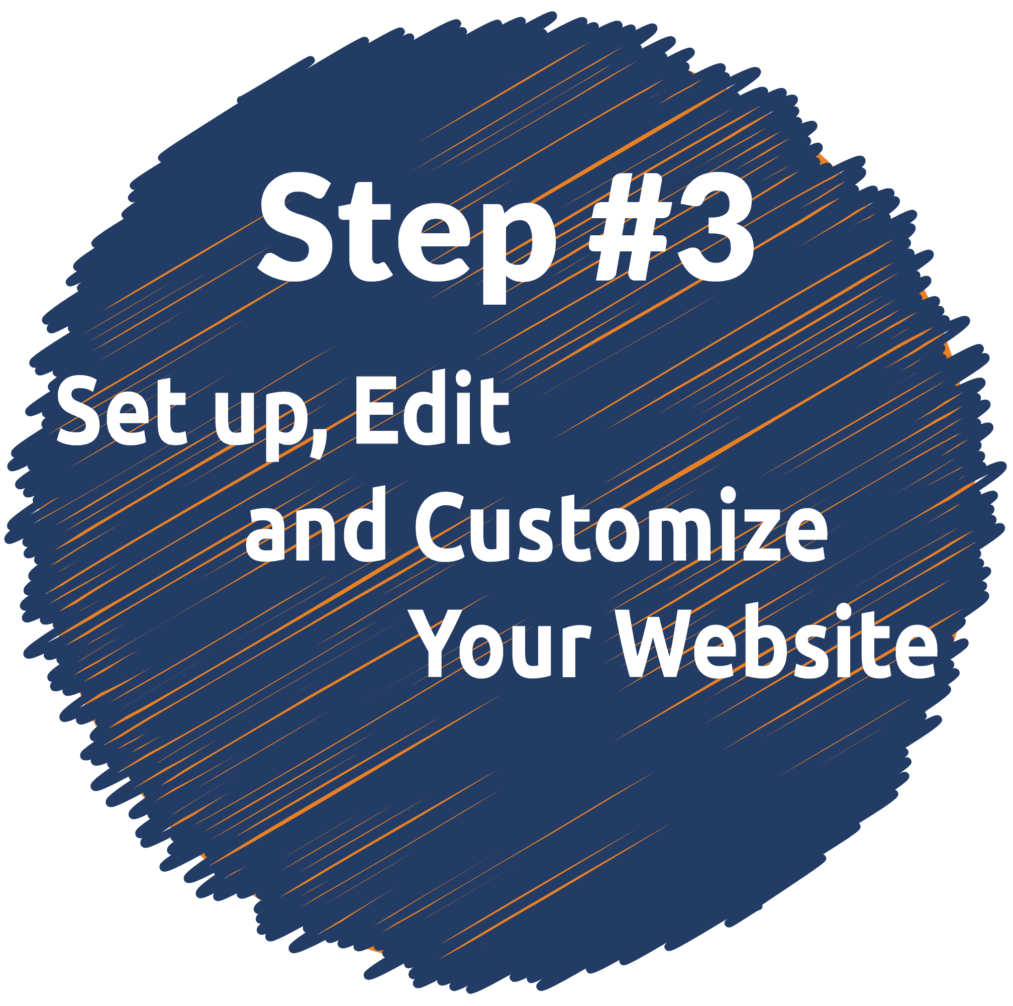 Step 3 of creating a website