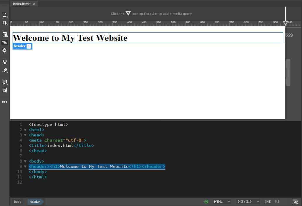 simple dreamweaver tutorial  how to create a website  step