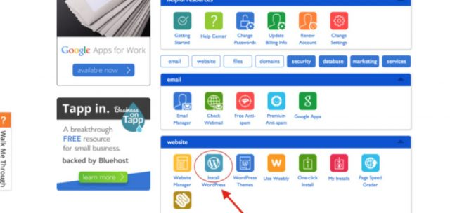 Installing WordPress Blogging Platform