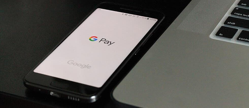 making a payment via google pay