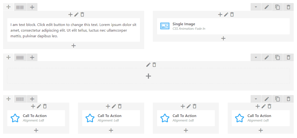 an example of a page builder for wordpress