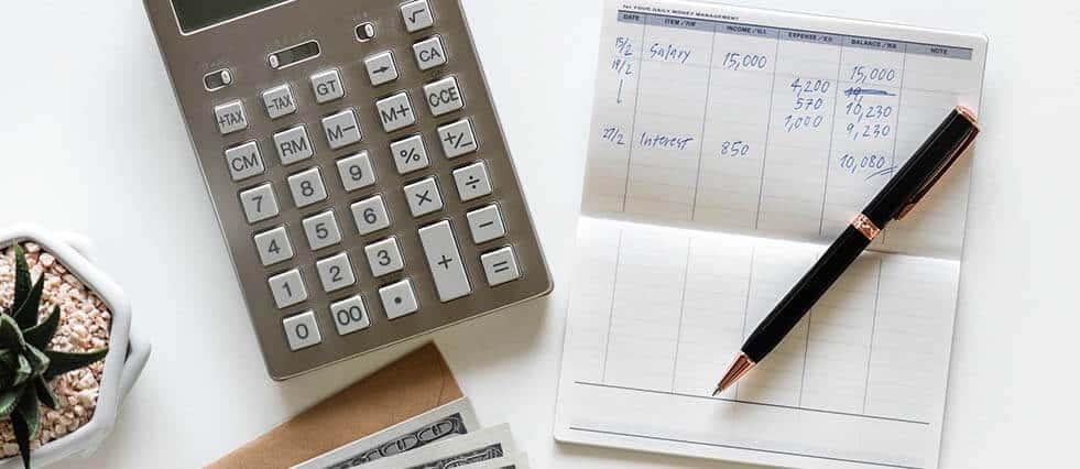calculating website budget