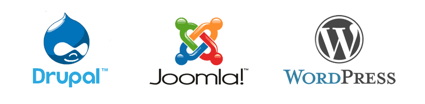 Drupal vs Joomla!  vs WordPress