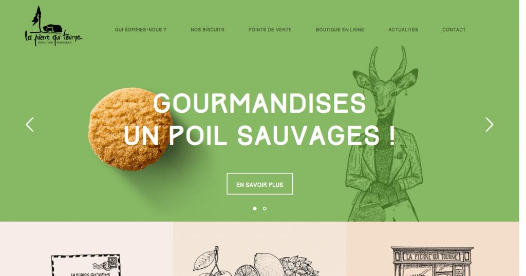 La Pierre Qui Tourne frontpage