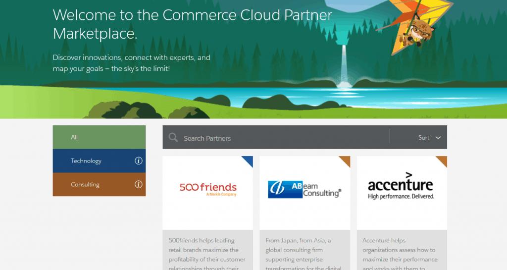 salesforce commerce cloud marketplace