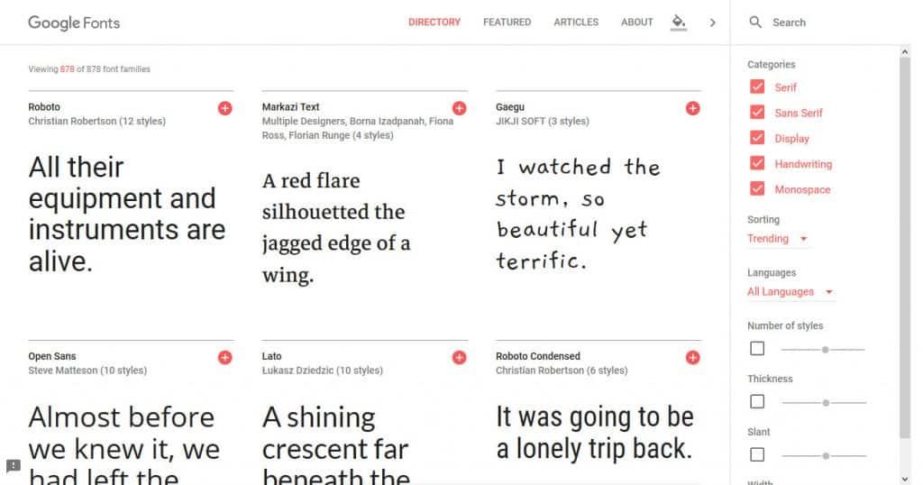 Foogle Fonts