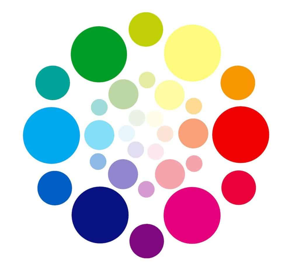 Color Dots In Circles