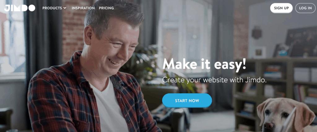 Jimdo website builder review