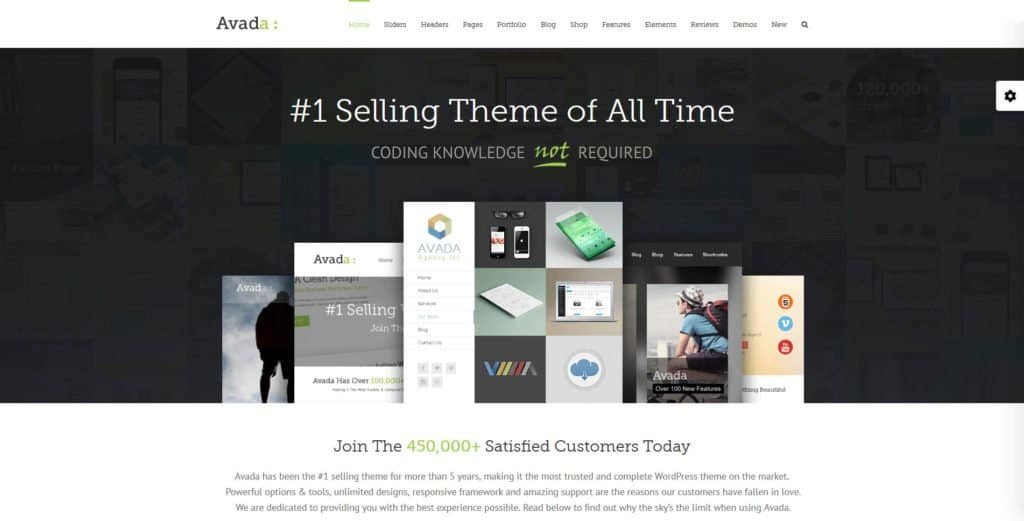 avada theme one of the best flexible wordpress themes