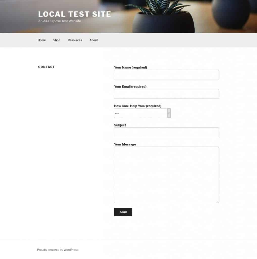 How to Create a Contact Form in WordPress (2019 Beginner's
