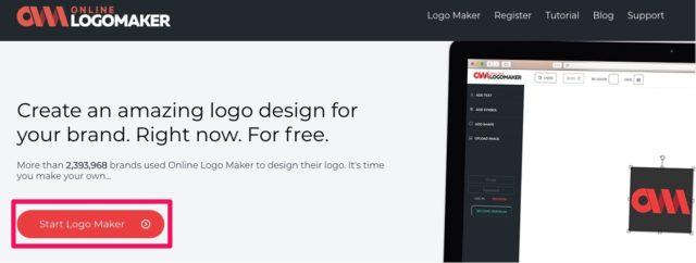 Start logo maker