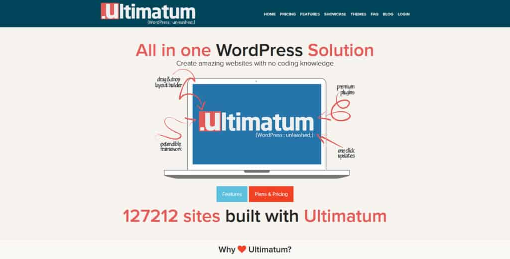 ultimatum theme framework