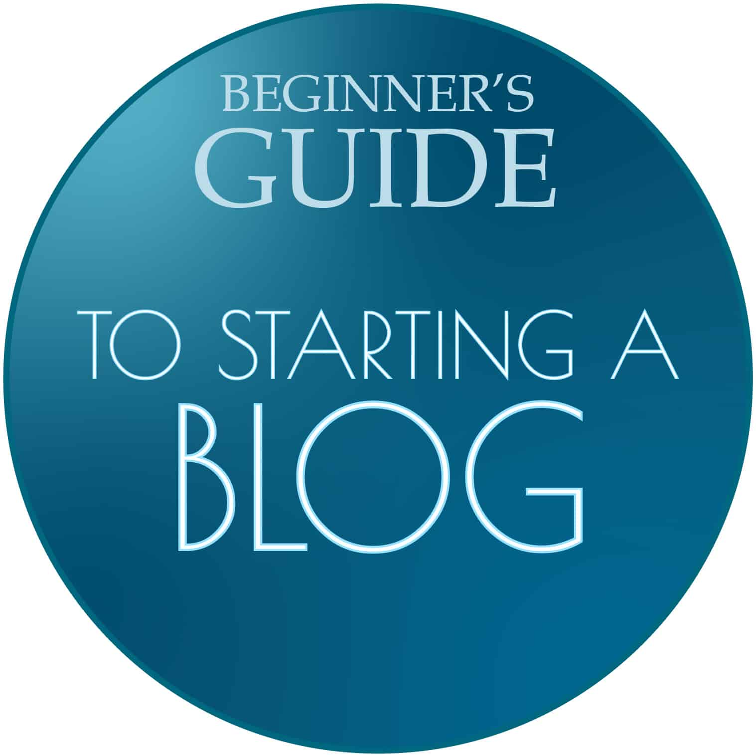 Beginners guide to starting a blog