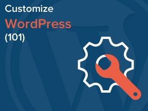 How to customize WordPress