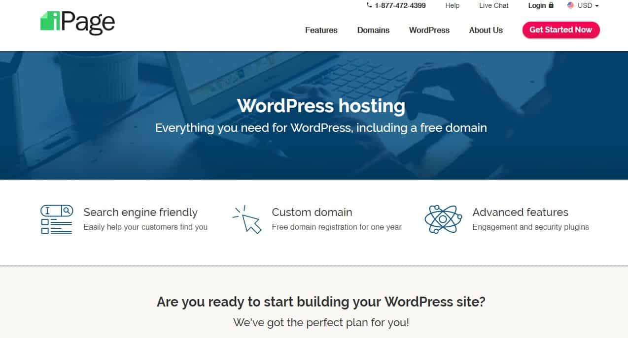 iPage WordPress Hosting