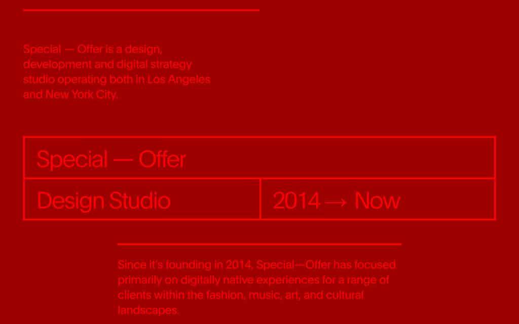 Studio met speciale aanbieding