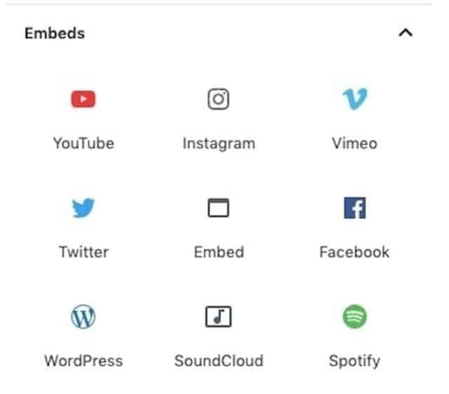 Embeds-Blocks