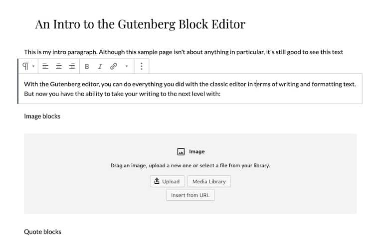 Gutenberg-Blocks