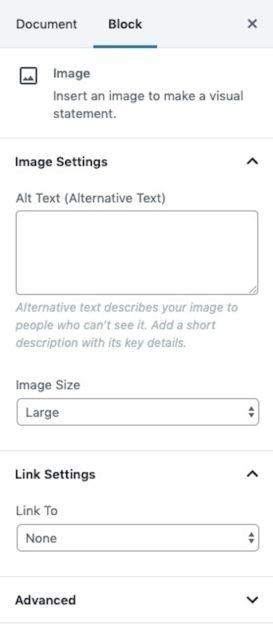 Image-Block-Sidebar