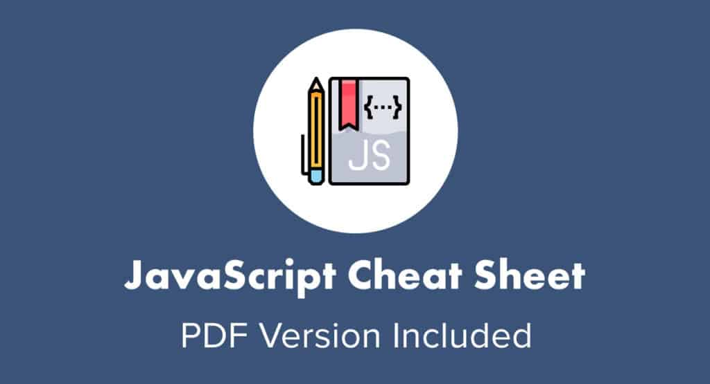 JavaScript Cheat Sheet PDF