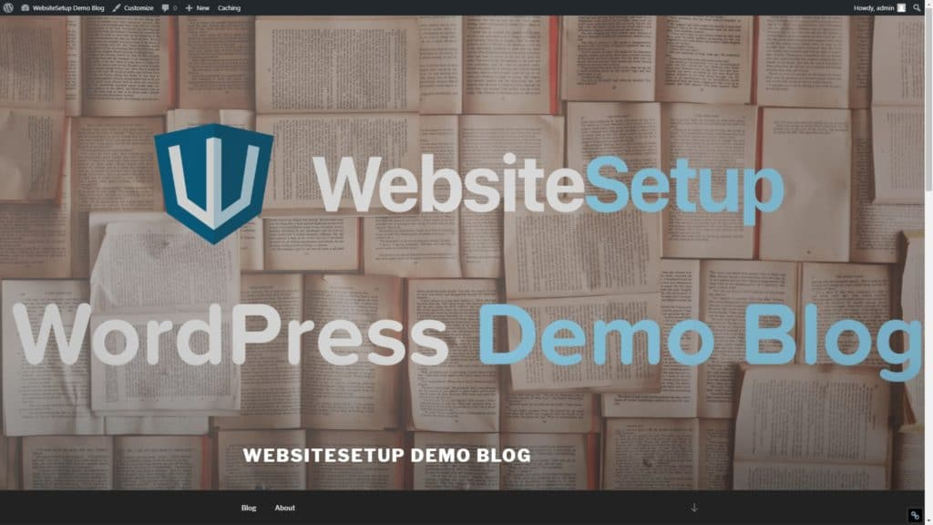 WebsiteSetup Demo Blog
