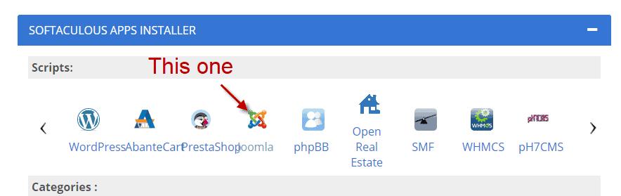 bh joomla install 2