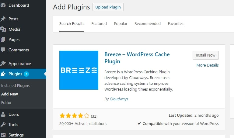 Breeze Plugin