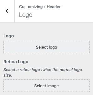 Personalizza il logo
