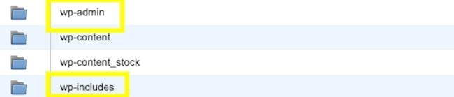cPanel Folders