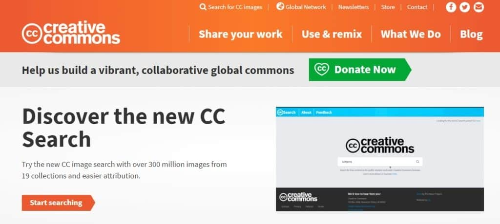 creative commons home